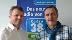 Expeditions-Sportler Christian Roth und Joachim Franz