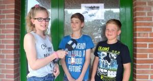 """Angelina mit den """"Junior-Lagerleitern"""" Kian und Tom-Luca"""