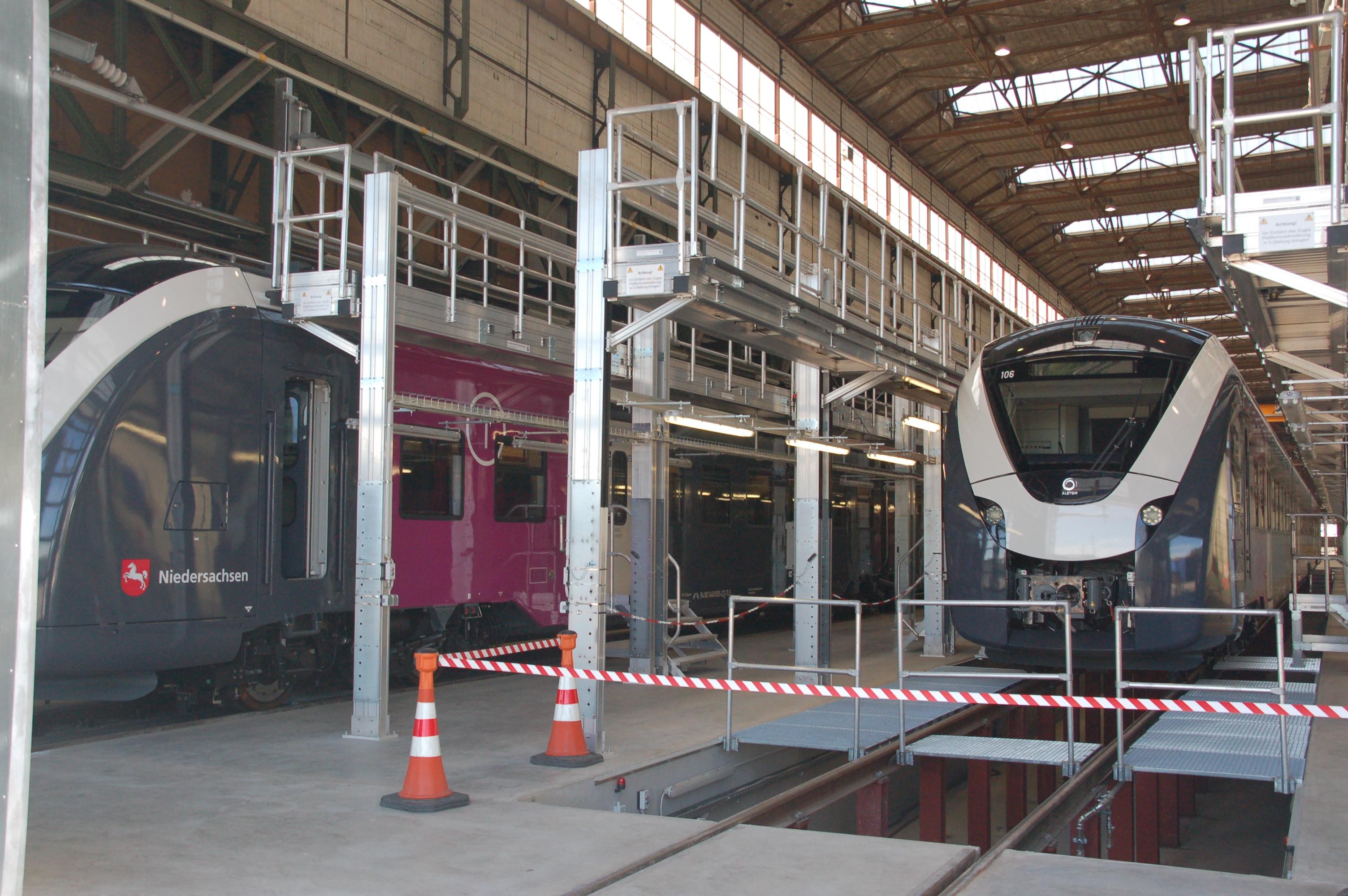 Gro Auftrag F R Alstom Werk In Salzgitter Radio38