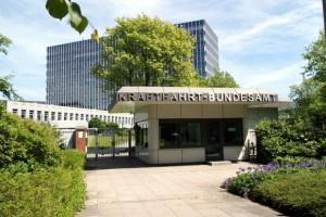 Hauptgebäude Kraftfahrt-Bundesamt in Flensburg