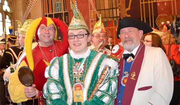 Das Braunschweiger Dreigestirn: Till, Prinz Nils III. und der Bauer. Foto: Radio38